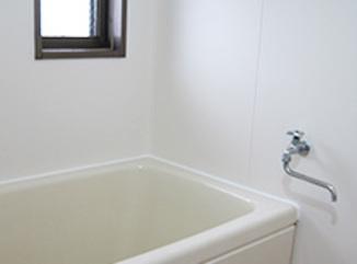 バスルームリフォーム 水廻り専用シートで安価にリフォーム