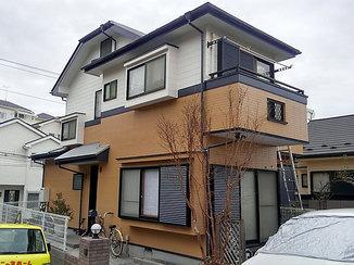 外壁・屋根リフォーム 劣化した屋根をしっかり補強!新築のようになった外壁・屋根