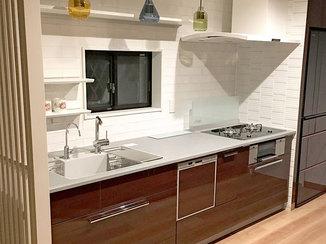 キッチンリフォーム 開放的で使いやすくなったI型キッチン