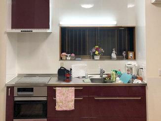 キッチンリフォーム 明るくすっきりとしたキッチンへリフォーム
