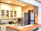 キッチンリフォーム明るく開放的なオープンキッチン