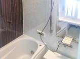 バスルームリフォームタイルのお風呂から温かいユニットバスへ