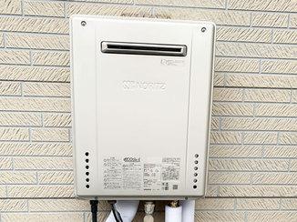 小工事 省エネ性の高い給湯器とタイマー付きの換気扇