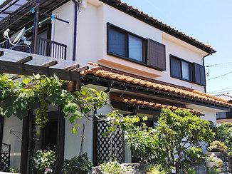 外壁・屋根リフォーム 補修と塗装で、見違えるほどきれいになった外観
