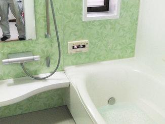 バスルームリフォーム お手入れがカンタンで使いやすいバスルーム&キッチン