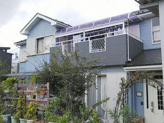外壁・屋根リフォーム 白アリ被害を受けた柱を取り替え、美しく塗り替えた外壁と屋根