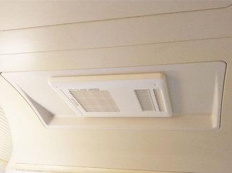 バスルームリフォーム 2つの機能を兼ね備え、見た目もスッキリした換気乾燥暖房機