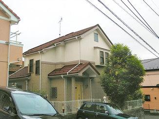外壁・屋根リフォーム お家のイメージを保ったまま塗り替えた外壁