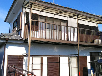 外壁・屋根リフォーム 色をじっくり吟味し満足の出来栄えとなった外壁