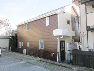 外壁・屋根リフォーム お客様のお気に入りカラーで塗り替えた外壁
