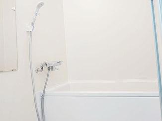 バスルームリフォーム 水はけが良く掃除がしやすいユニットバス