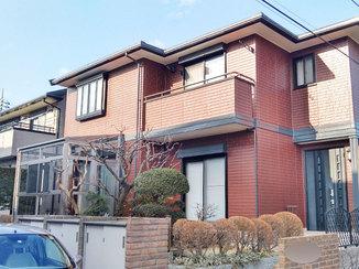 外壁・屋根リフォーム 紫外線に強い外壁と、雨でも物干しできるサンルーム