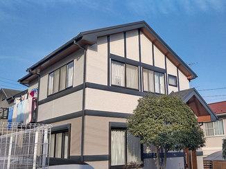 外壁・屋根リフォーム 予算を抑えてキレイにした屋根と、紫外線に強く長持ちする外壁