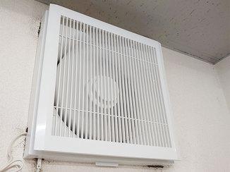 小工事 音が静かで目立たないトイレ換気扇