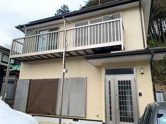 外壁・屋根リフォーム 雨樋を交換し、シンプルでキレイな色に塗り替えた外装