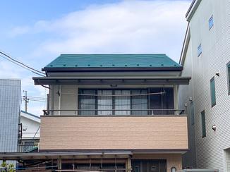 外壁・屋根リフォーム シンプルながらも存在感のある外壁&屋根