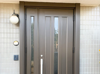 エクステリアリフォーム 1日でリフォーム完了!綺麗な玄関ドア